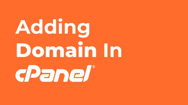 How to add domain in cPanel