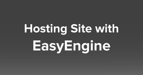 How to host site in VPS / Server with EasyEngine