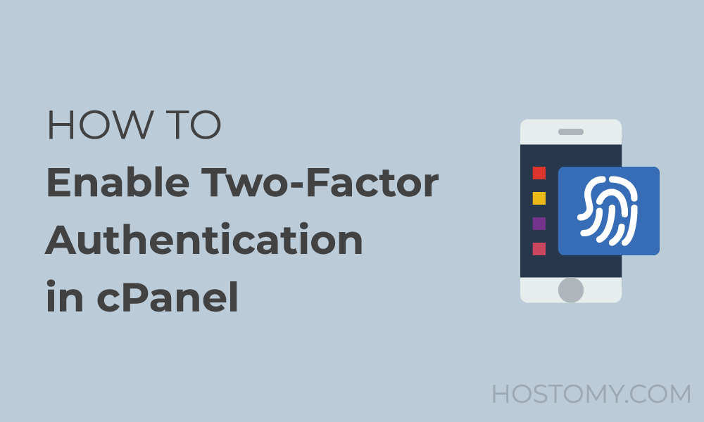 How to enable Two-factor authentication (2FA) in cPanel