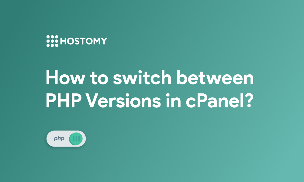 How to Switch between PHP Versions in cPanel