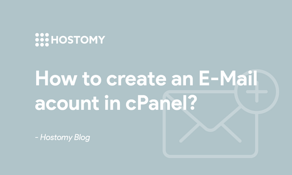 How to create an E-Mail account in cPanel